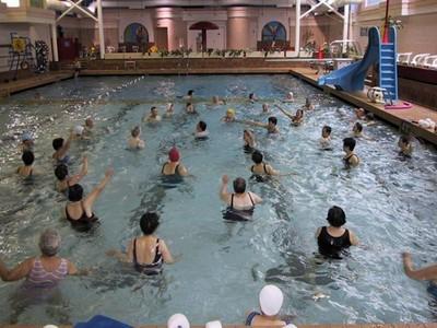 Britannia Community Services Centre Pool Overview